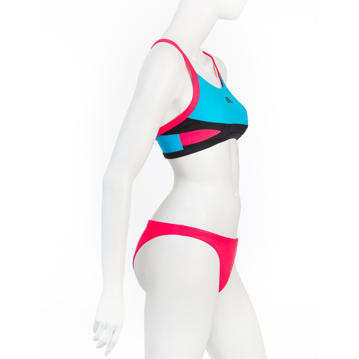Aly zp costume donna due pezzi aquarapid shop online for Costume piscina 2 pezzi